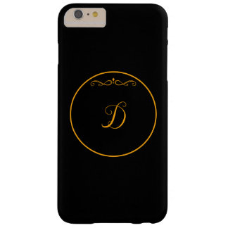 Monogram initial 'D' Barely There iPhone 6 Plus Case