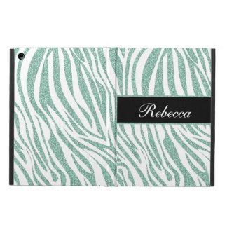 Monogram iPad Air Case Zebra Glitter