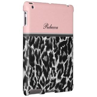 Monogram iPad Leopard Style Case