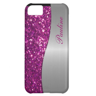Monogram iPhone 5 Glitter Case