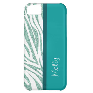 Monogram iPhone 5C Zebra Stripes Case