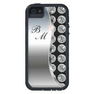 Monogram iPhone 5S Bling Case Tough Xtreme iPhone 5 Case