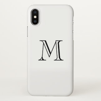 Monogram iPhone X Case