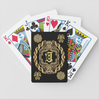 Monogram J IMPORTANT Read About Design Playing Cards