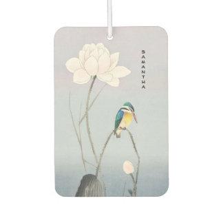 Monogram Japanese Vintage Kingfisher Air Freshener