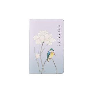 Monogram Japanese Vintage Lotus Notebook - Pocket