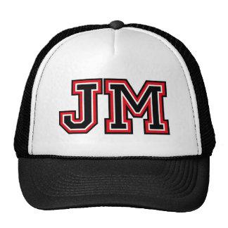 Monogram 'JM' Trucker Hat