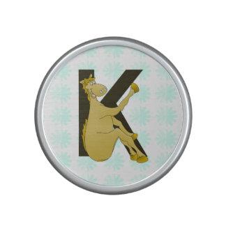 Monogram K Flexible Horse Personalised Bluetooth Speaker