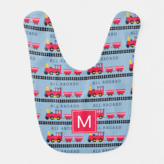 Monogram | Kids All Aboard Bib