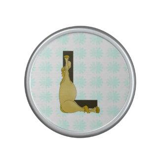 Monogram L Flexible Horse Personalised Bluetooth Speaker