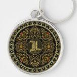 Monogram L Keychain