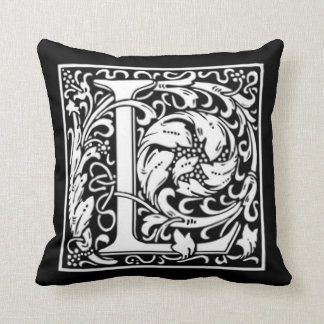 Monogram L Pillow