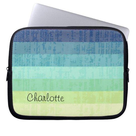 Monogram Laptop Sleeve Designer Colours