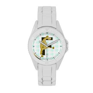 Monogram Letter F Pony Wristwatches