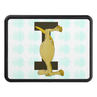 Monogram Letter I Pony Personalised Trailer Hitch Cover