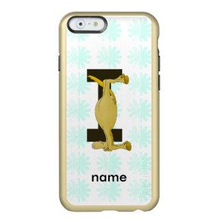 Monogram Letter I Pony Personalised Incipio Feather® Shine iPhone 6 Case