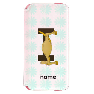 Monogram Letter I Pony Personalised Incipio Watson™ iPhone 6 Wallet Case