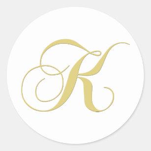 Letter K Monogram Craft Supplies