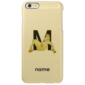 Monogram M Funny Pony Personalised Incipio Feather® Shine iPhone 6 Plus Case