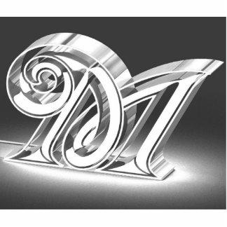 Monogram M Photo Cutout