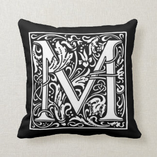 Monogram M Pillow