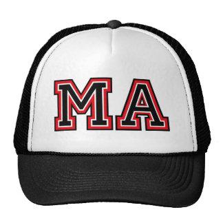 Monogram 'MA' initials Trucker Hats