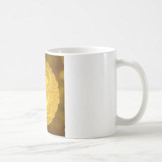 monogram - medallion coffee mug