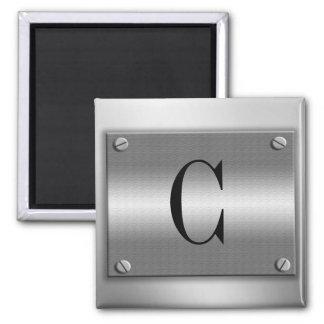 Monogram Metal Frame With Screws Magnet