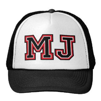 Monogram 'MJ' Hat