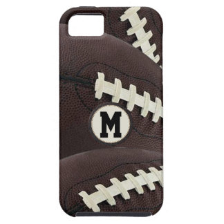 Monogram Modern Graphic Football iPhone 5 iPhone 5 Covers