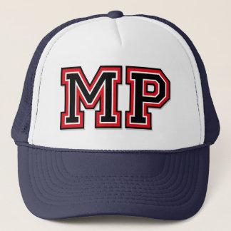 Monogram 'MP' initials Trucker Hat