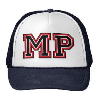 Monogram 'MP' initials Trucker Hats