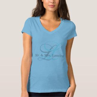 Monogram Mr. & Mr.s T-Shirt for Women