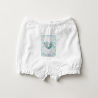 Monogram Multi-Colour Custom Baby Products Nappy Cover