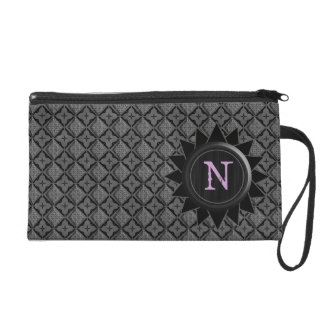 Monogram N Customizable Bagetttes Wristlet Bag