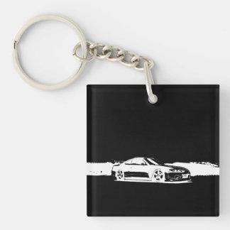 Monogram Nissan Silvia Acrylic Keychain
