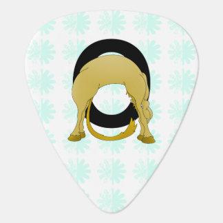 Monogram O Flexible Pony Personalised Guitar Pick