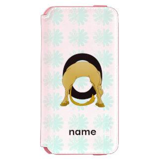 Monogram O Flexible Pony Personalised Incipio Watson™ iPhone 6 Wallet Case