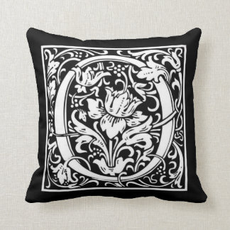 Monogram O Pillow