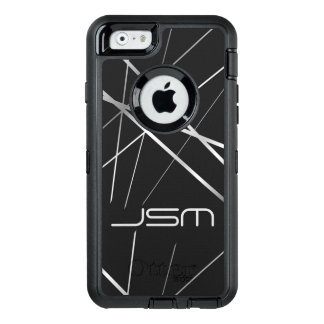 Monogram Otterbox Case Abstract Personalized