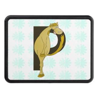 Monogram P Flexible Pony Personalised Hitch Cover