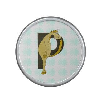 Monogram P Flexible Pony Personalised Speaker