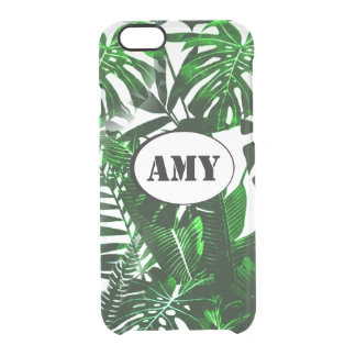 Monogram Palm Leaves iPhone Case