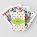 Monogram Personalised Playing Cards