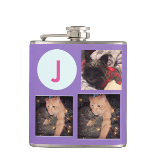 Monogram/Photos Hip Flask