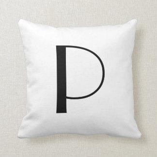 Monogram Pillows Letter P