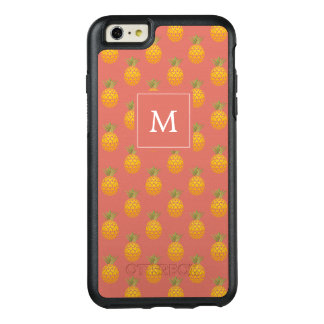 Monogram Pineapples OtterBox iPhone 6/6s Plus Case