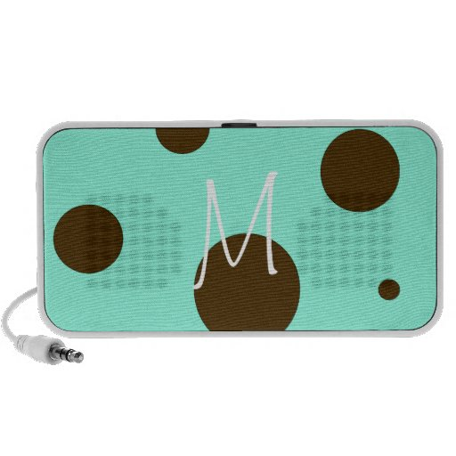 Monogram Polka Dot Portable Speaker