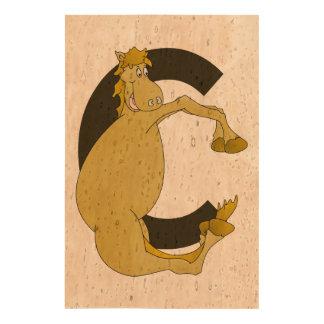 Monogram Pony C Queork Photo Prints