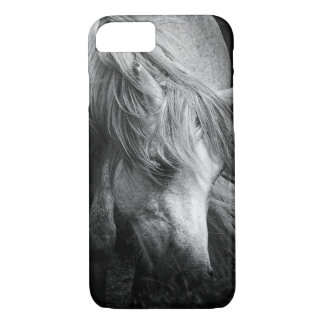 Monogram Pony Portrait - Dartmoor Pony Mare iPhone 7 Case
